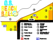 OB Beach Ball Event Map